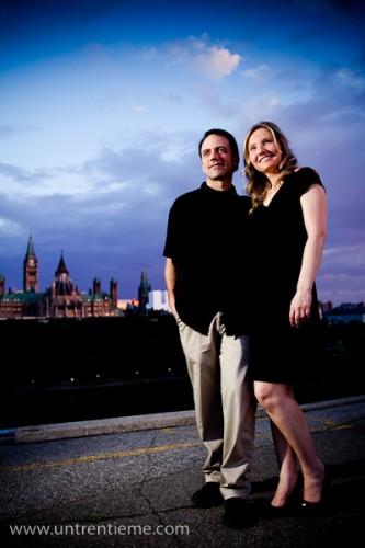 Christine et Pete, Session pré-mariage, Ottawa, Juillet 2010 (© Sébastien Lavallée, 2010)