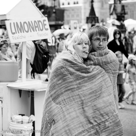 Grimace et limonade, Fête du Canada, Ottawa, Juillet 2010 (© Sébastien Lavallée, 2010)