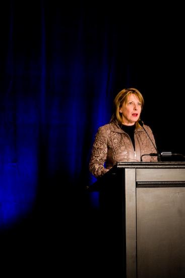 Christine St-Pierre, Ministre de la Culture (© Sébastien Lavallée, 2009)