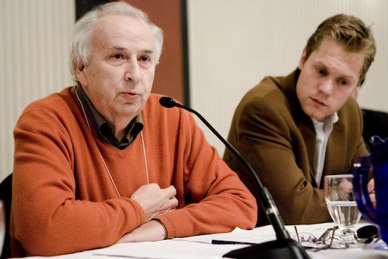 Bernard Descôteaux, directeur Le Devoir (© Sébastien Lavallée, 2009)