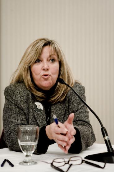 Chantale Larouche, présidente Fédération nationale des communications (© Sébastien Lavallée, 2009)