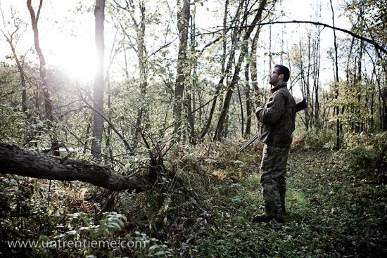 Joey, chasse aux canards, Gracefield, Octobre 2010 (© Sébastien Lavallée, 2010)
