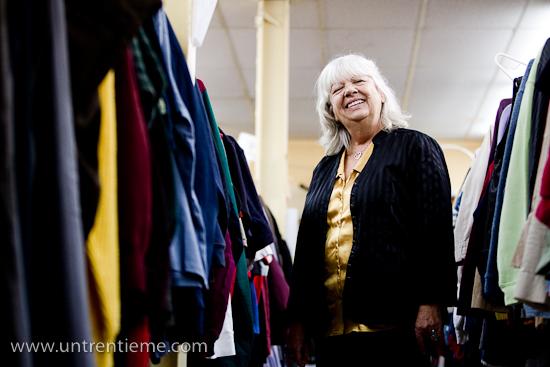 Diane Tremblay, directrice générale de Entraide familiale de l'Ouaouais, Gatineau, Octobre 2010 (© Sébastien Lavallée, 2010)