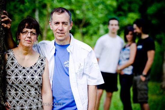 Famille Faucher, Portrait, Retraite, Juin 2010, Ottawa (© Sébastien Lavallée, 2010)