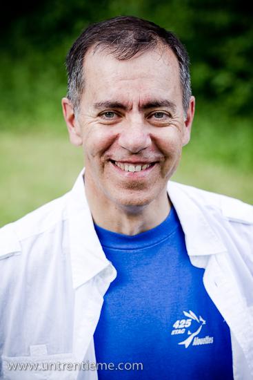 Sylvain Faucher, Portrait, Party de retraite, Juin 2010, Ottawa (© Sébastien Lavallée, 2010)