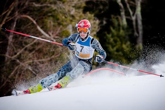 Compétition Ski Montcalm, 7 février 2010, Rawdon