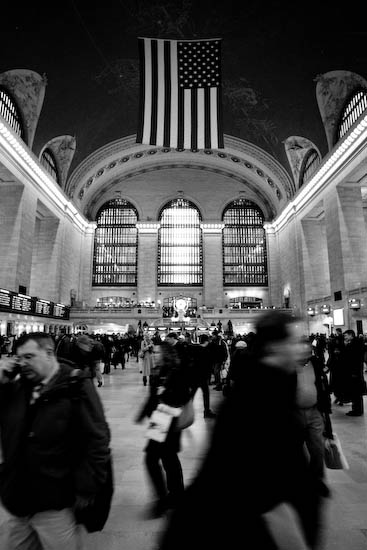 Grand Central Station, New York, Janvier 2010