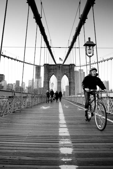 Pont de Brooklyn, New York, Janvier 2010