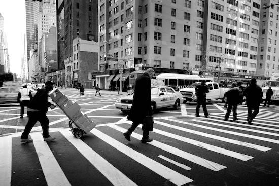 Le poid du quotidien, New York, Janvier 2010