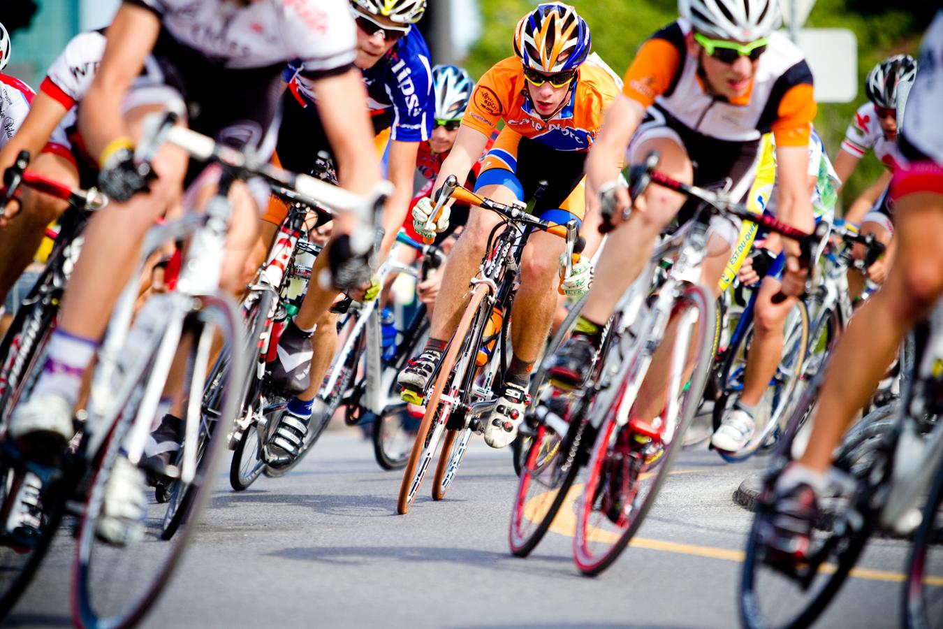 Cyclisme à la 45e finale des Jeux du Québec, Gatineau, 2010 (© Sébastien Lavallée)