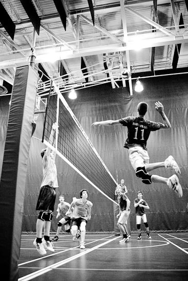 Volleyball, Jeux du Québec 2010, Centre sportif, Gatineau, Août 2010 (© Sébastien Lavallée - Infocale, 2010)