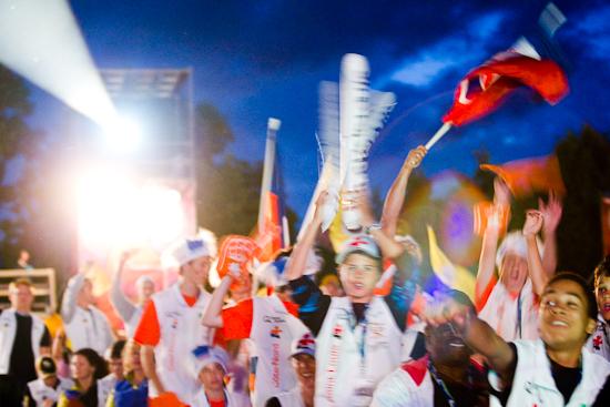 L'énergie des jeunes athlètes, Jeux du Québec, Lac Leamy, Gatineau (© Sébastien Lavallée - Infocale, 2010)