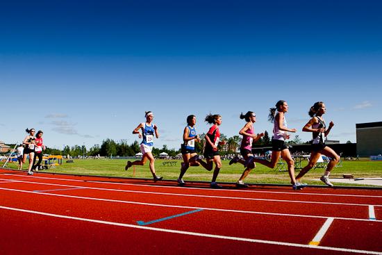 Athlétisme, Jeux du Québec 2010, Gatineau, Juillet 2010 (© Sébastien Lavallée - Infocale, 2010)