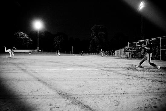 Baseball au Parc Aydelu, Mauricie vs Saguenay-Lac-St-Jean, Jeux du Québec 2010, Aylmer, Juillet 2010 (© Sébastien Lavallée - Infocale, 2010)