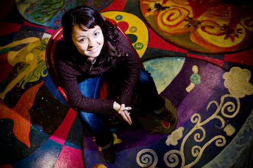 Mylène Piché, coordonatrice du Lab, Décembre 2010 (© Sébastien Lavallée, 2010)