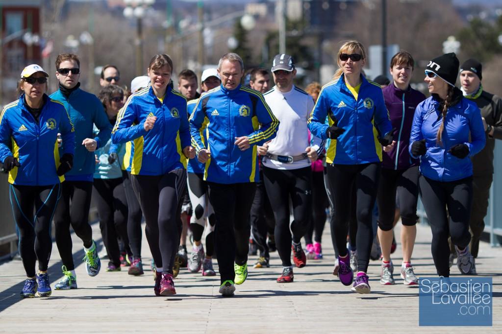 Course commémorative des attentats du marathon de Boston. Gatineau, 21 avril 2013. (© Sébastien Lavallée)