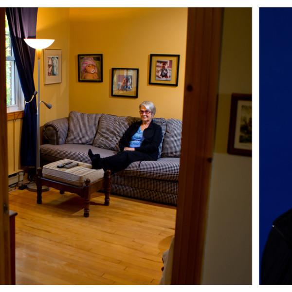 Lucie, C'est quoi ta job?, un projet photo de Sébastien Lavallée (© Sébastien Lavallée)