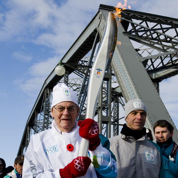 Passage de la flamme olympique. Photographe d'événement. Gatineau, Ottawa, Montréal. © Sébastien Lavallée