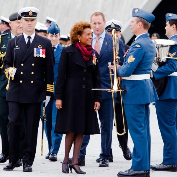 Michaëlle Jean. Photographe d'événement. Gatineau, Ottawa, Montréal. © Sébastien Lavallée