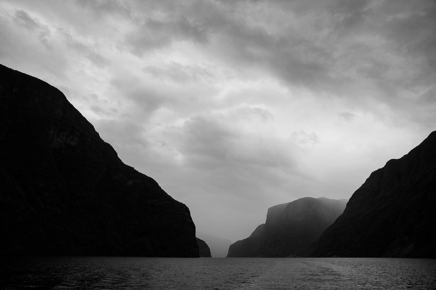 Un paysage du Nærøyfjord.