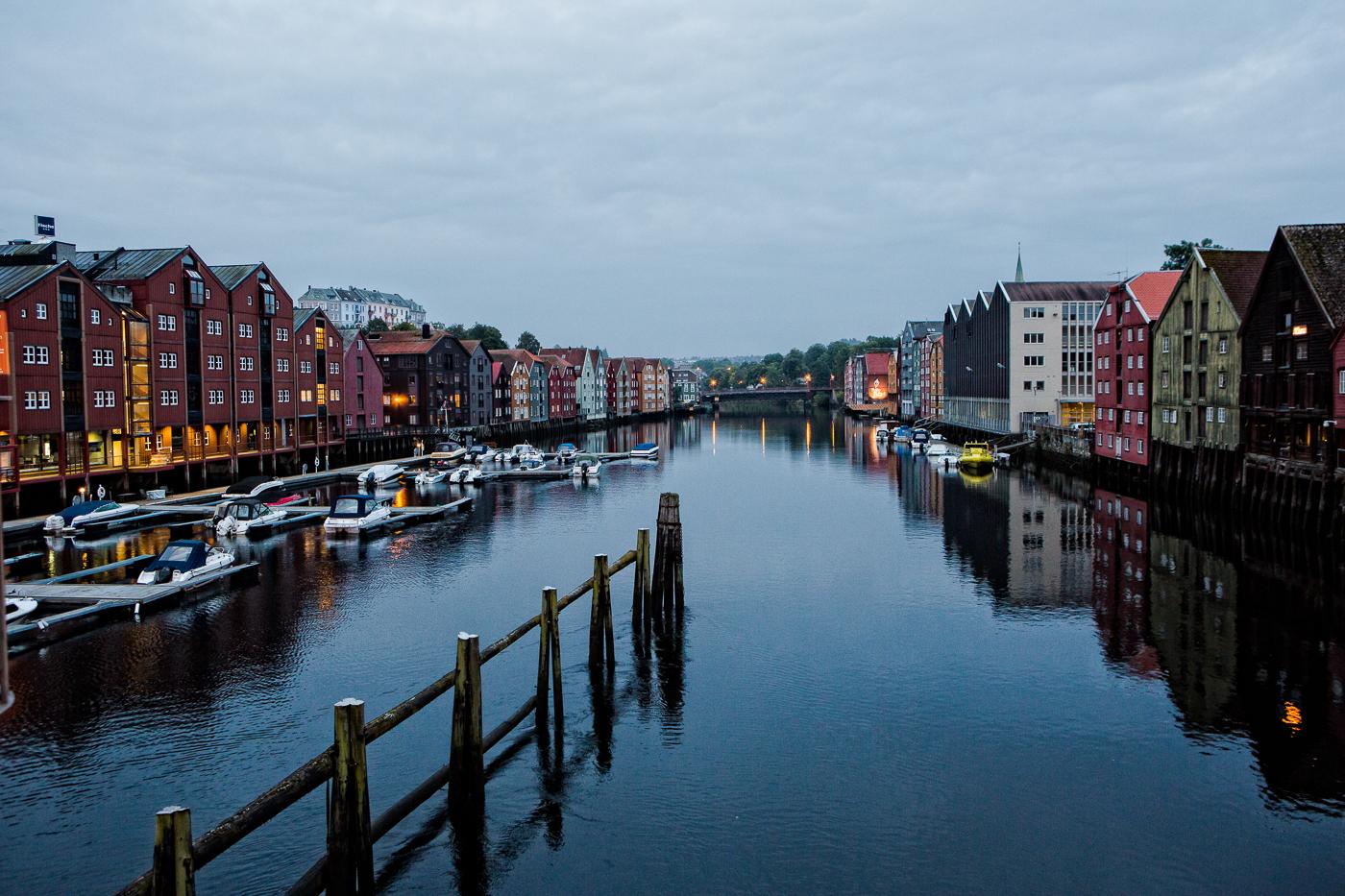 Un matin à Trondheim.