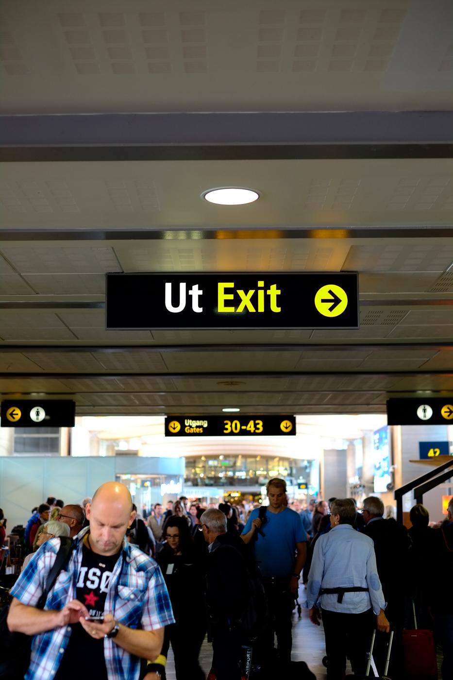 Départ: aéroport de Francfort.