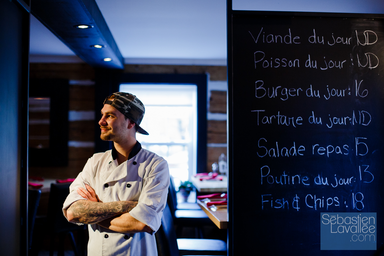 Projet photo pour Tourisme Outaouais: Meilleure poutine gastronomique en Outaouais. (© Sébastien Lavallée)