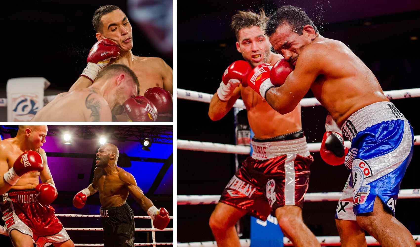 Gala de boxe au Hilton Lac Leamy le 28 mars 2014.