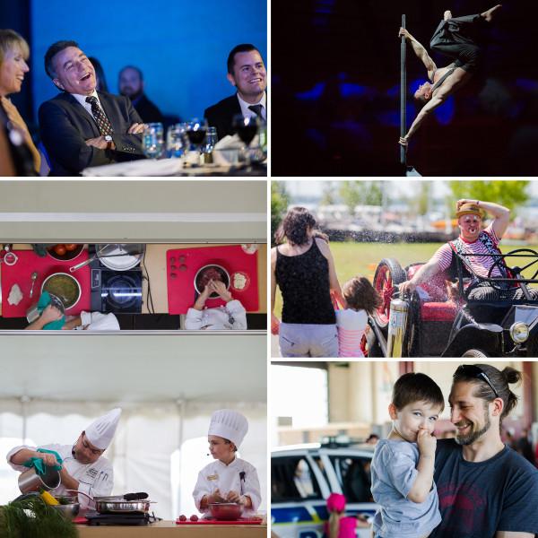 Quelques événements photographiés en 2014.