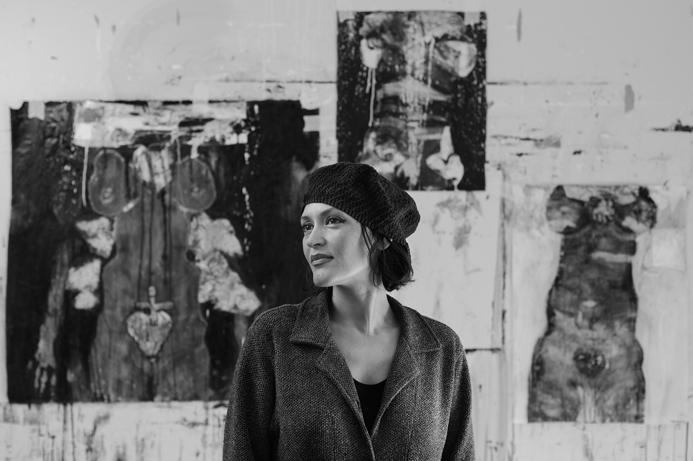 Portrait de Isabelle Gauvreau, par Sébastien Lavallée