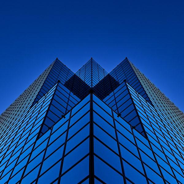 «Out of the blue», Excellence à la compétition 2017 des PPOC dans la catégorie Architecture. (© Sébastien Lavallée)