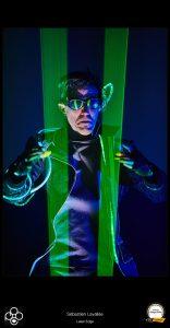 La photo «Laser Edge» photographe Sébastien Lavallée a été acceptée dans la catégorie «Presse» dans le cadre de la compétition annuelle des PPOC. (Photo : Sebastien Lavallee)