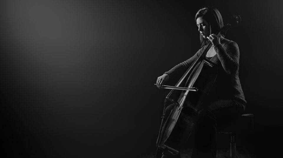 Violoncelliste. Photographie de portrait, Gatineau, Ottawa, Montréal (Photo : Sebastien Lavallee)