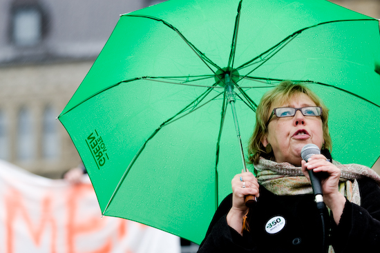 Elizabeth May, chef du Parti Vert du Canada (© Sébastien Lavallée, 2009)