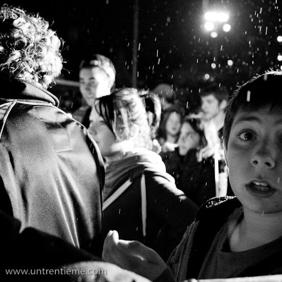 Nuit des sans-abri au parc Sainte-Bernadette, Gatineau (Hull) (© Sébastien Lavallée, 2010)